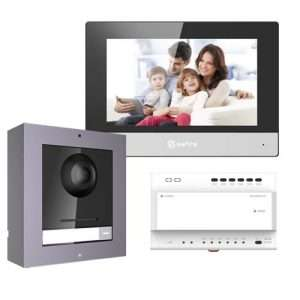 safire 2-draads intercom set modulair